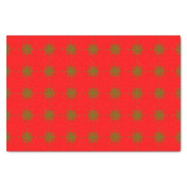 Beach Themed Red And Green Coastal Christmas Decor Compass Rose Tissue Paper
