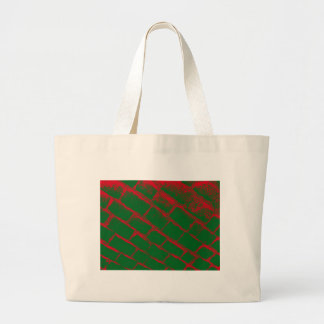 Red and Green Cobbles Bag