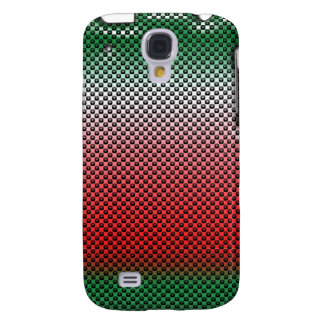 Red and Green Dot Matrix iPhone3G Galaxy S4 Covers
