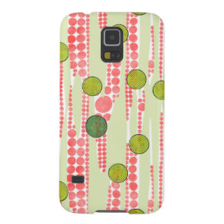 Red and Green Dots Case For Galaxy S5