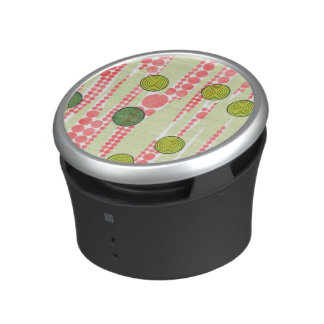 Red and Green Dots Speaker