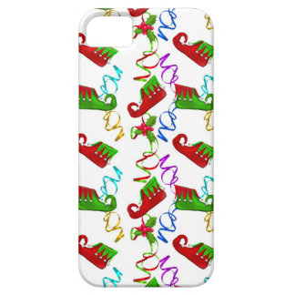 Red and Green Elf Shoes Christmas Holiday iPhone SE/5/5s Case