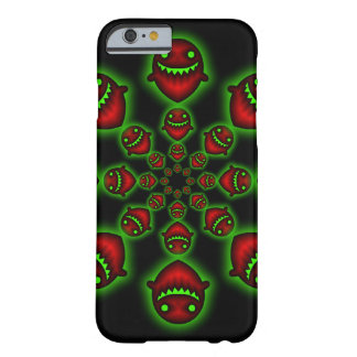 Red and Green Ghosts Barely There iPhone 6 Case