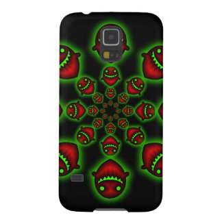 Red and Green Ghosts Samsung Galaxy S5 case