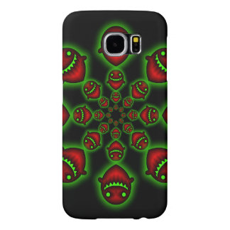 Red and Green Ghosts Samsung Galaxy S6 Case