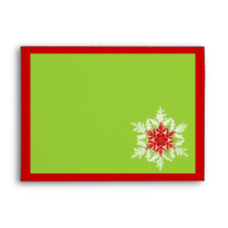 Red and Green Holiday Envelopes