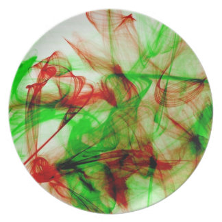 Red and green ink plate