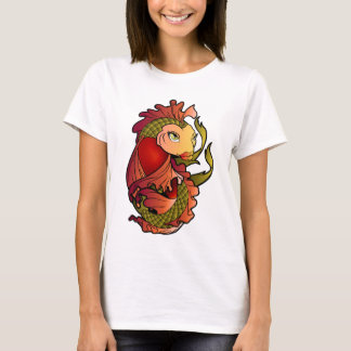 Red and Green Koi Fish T-Shirt