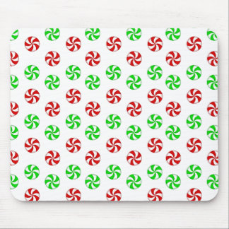 Red and Green mints Mouse Pad