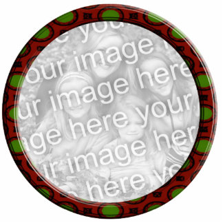 Red and Green  Ornament Photo Frame