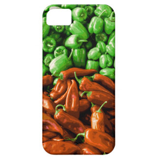 Red and Green Peppers iPhone Case iPhone 5 Cases