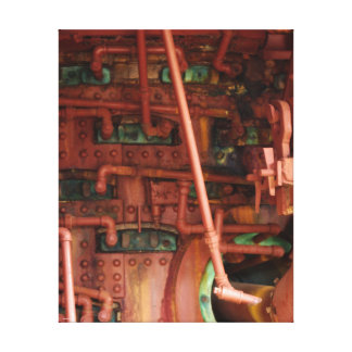 Red and Green Pipe Dreams Canvas Print