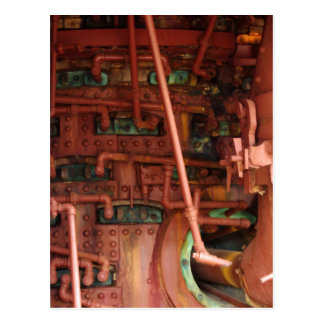 Red and Green Pipe Dreams Postcard