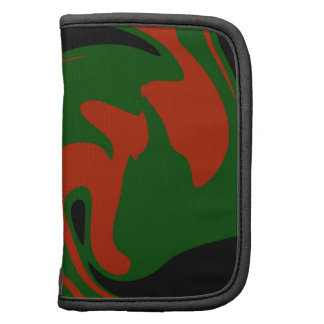 Red and green organizers