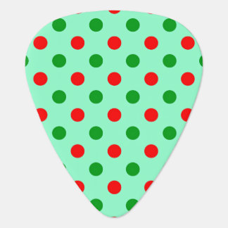 Red and Green Polka Dots Pick