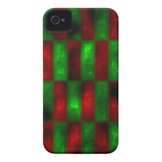 red and green rectangles blackberry case