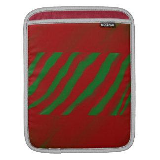 Red and Green Rickshaw IPad Sleeve