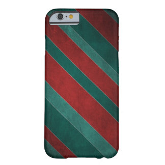 Red and Green Stripes Barely There iPhone 6 Case