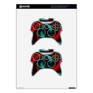Red and green tentacles xbox 360 controller skins