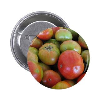 Red and Green Tomatoes Pinback Button