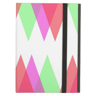 Red and green triangles case for iPad air