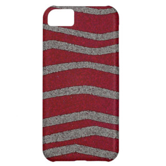 Red and grey case