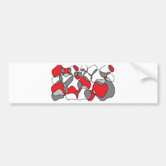 red and grey circles.jpg bumper sticker