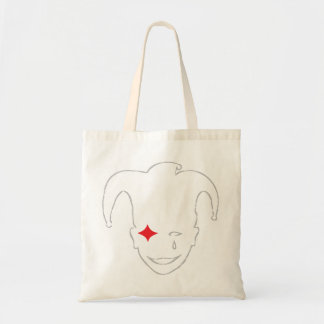 Red and Grey MTJ Tote Bag