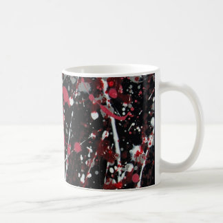 Red and Grey Scatter Mug II