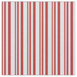 [ Thumbnail: Red and Lavender Colored Stripes Pattern Fabric ]