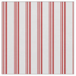 [ Thumbnail: Red and Lavender Striped/Lined Pattern Fabric ]