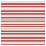 [ Thumbnail: Red and Light Yellow Colored Pattern Fabric ]