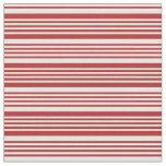 [ Thumbnail: Red and Mint Cream Colored Pattern Fabric ]