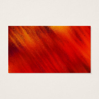 Red and Orange Business Card