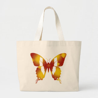 Red and Orange Butterfly Bag
