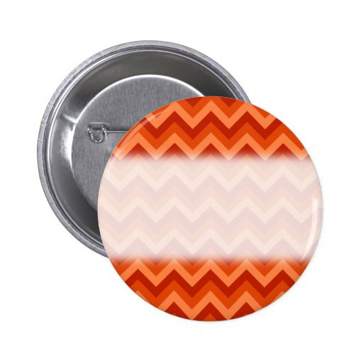 Red and Orange Chevron Stripes. Pins