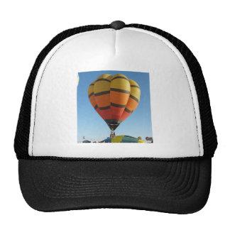 Red and Orange Hot air balloon Trucker Hat