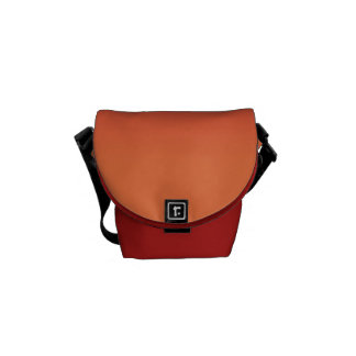 Red and Orange Courier Bag