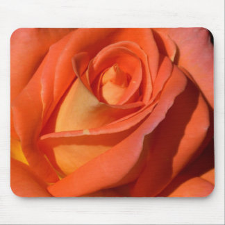 Red And Orange Rose Mouse Pad