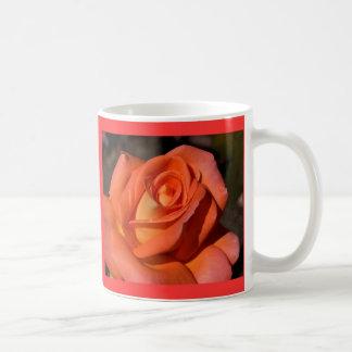 Red And Orange Rose Mug