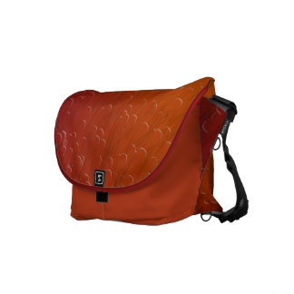 Red and Orange Swimmers Commuter Bags