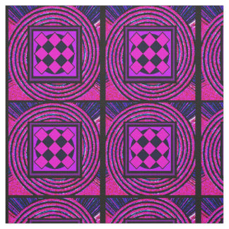 Red and Pink #4 Fabric