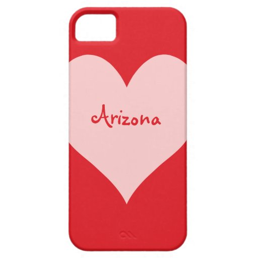 Red and Pink Arizona iPhone 5 Cases