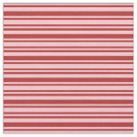 [ Thumbnail: Red and Pink Lines Fabric ]