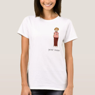 Red and Pink Nurse T-shirt