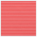 [ Thumbnail: Red and Pink Pattern Fabric ]