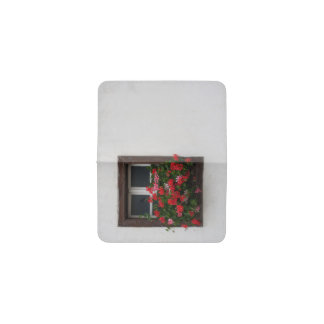 Red And Pink Pelargonium Business Card Holder