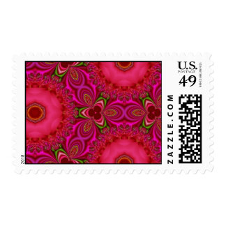 Red and Pink Temptation Postage