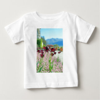 Red and Pink Tulip Blossoms T Shirt