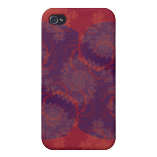 Red and Purple Cover For iPhone 4